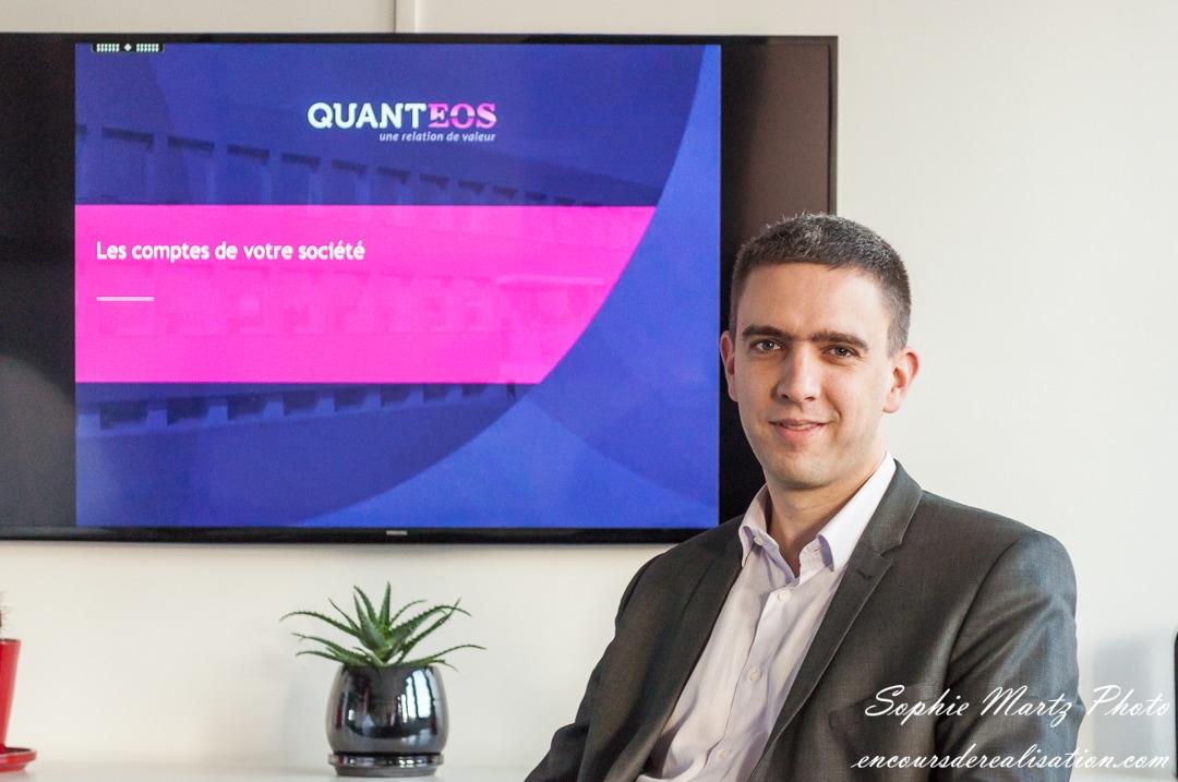 Portrait professionnel entreprise comptable, Pierre Quique