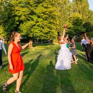 Cérémonie du bouquet, mariage