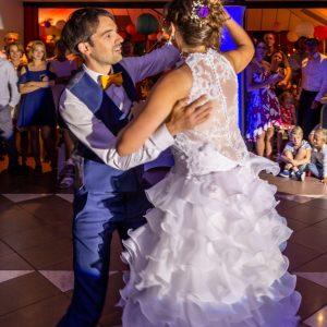 Ouverture de bal par les mariés