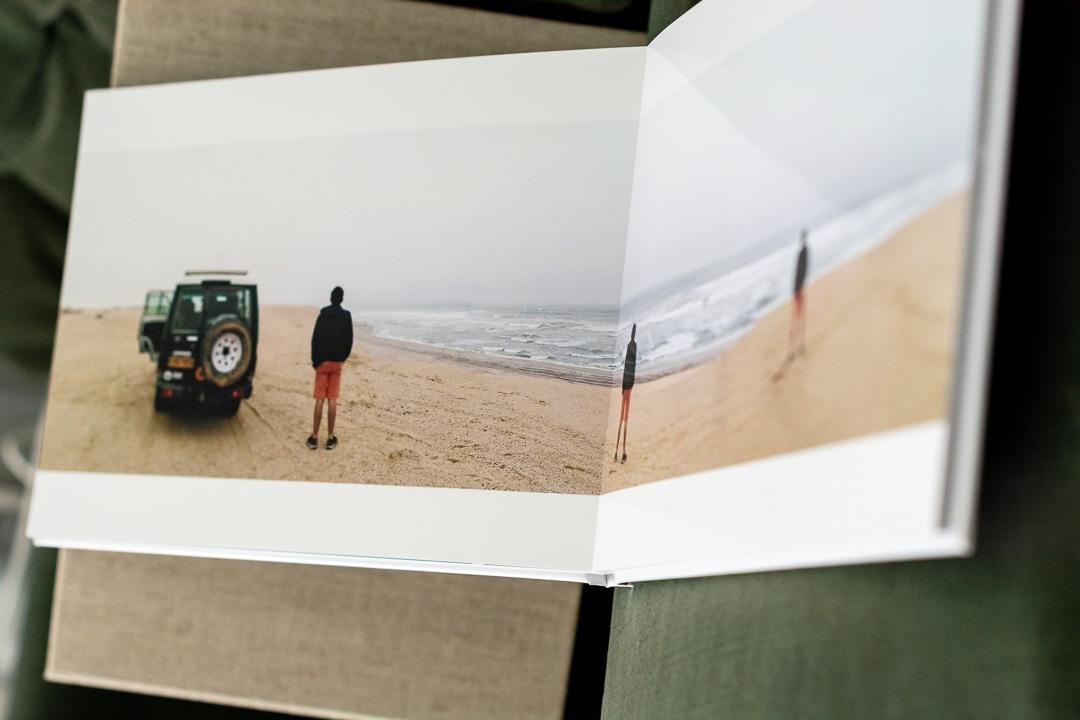 Exemple de livre photo, papier brillant couleur