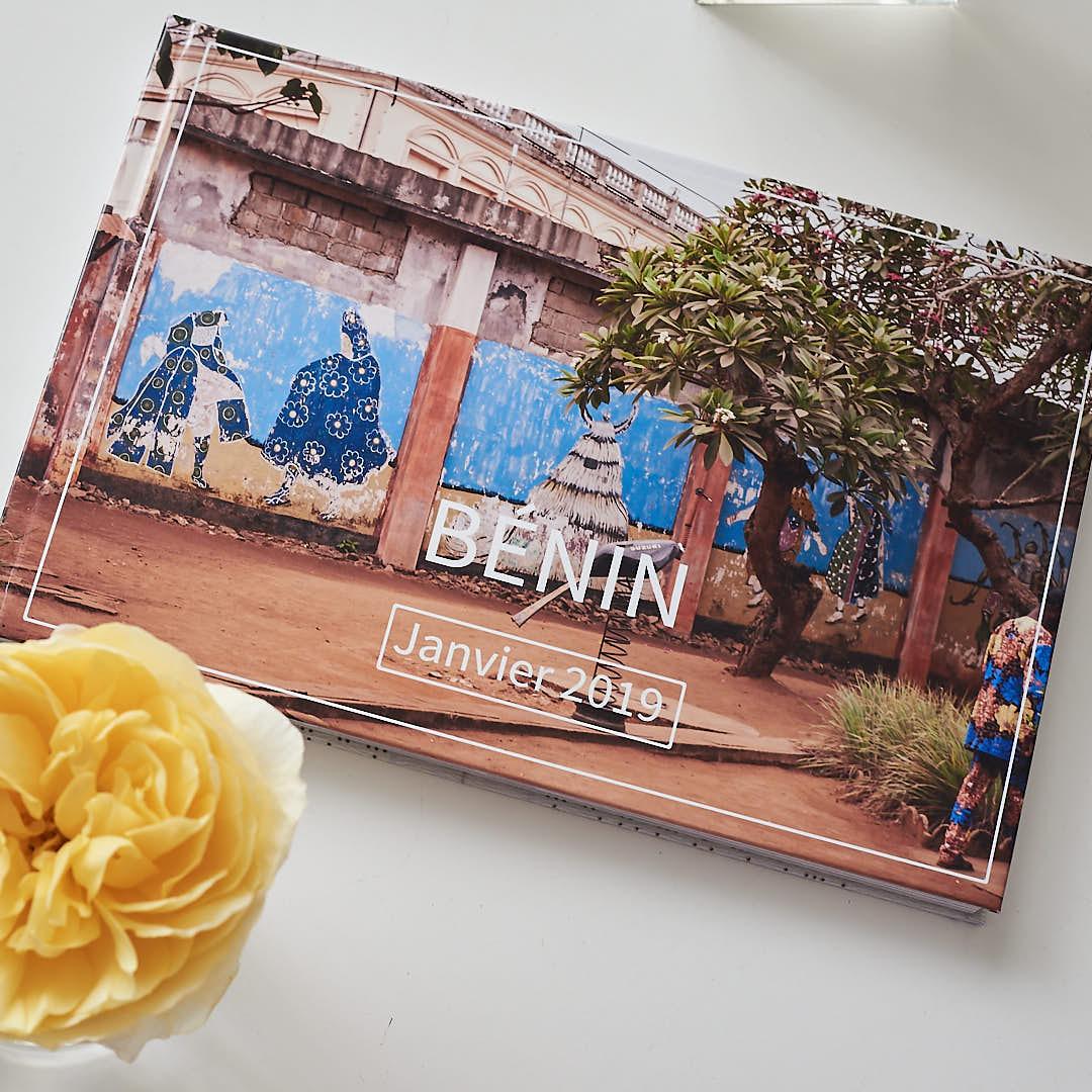 Exemple de couverture de livre de Voyage, exemple pour un voyage au Bénin