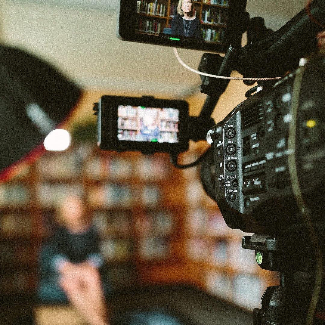 Capture d'un moment de tournage, film, vidéo
