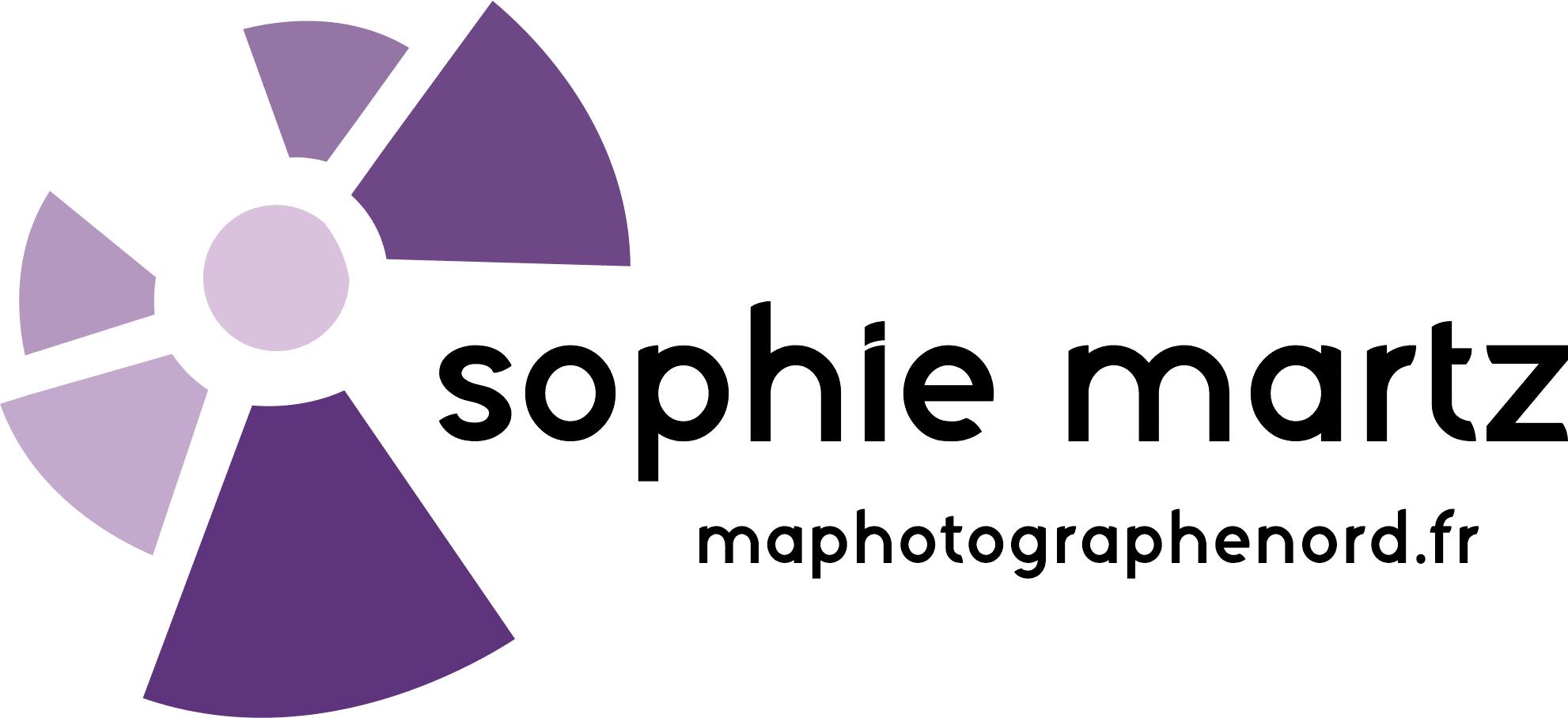 Logo d entreprise photo, Sophie Martz, Maphotographenord.fr